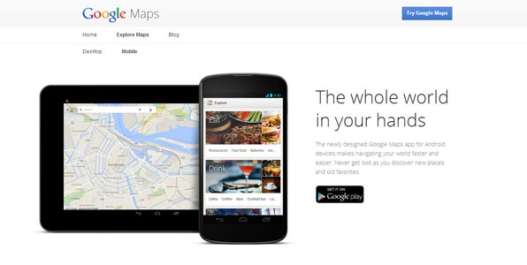 new google maps restaurants